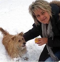 Ingrid Kirchmair mit Piolina 2