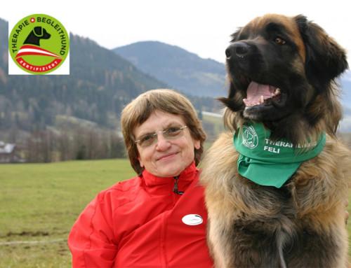 Mag. Heidi Reber mit Feli