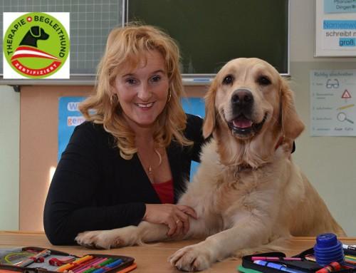 Pamela Hofreiter mit Flora